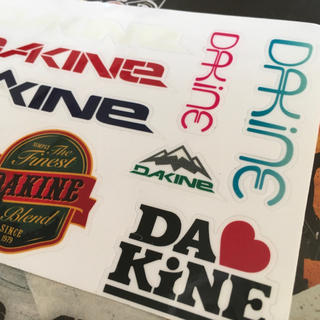 ダカイン(Dakine)のダカインDAKINE US限定マルチシート型抜き9種ステッカー セット(アクセサリー)