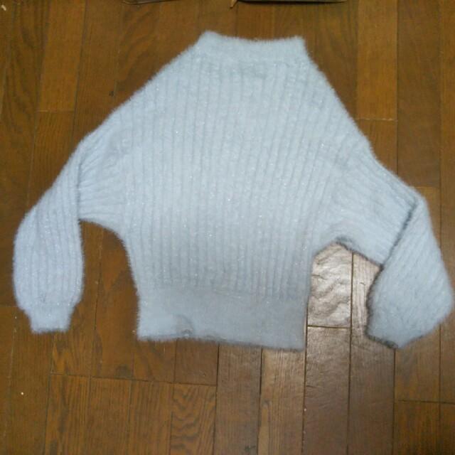 ブルーニット レディースのトップス(ニット/セーター)の商品写真