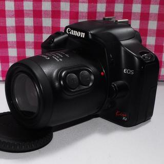 キヤノン(Canon)の❤感動をいつまでも❤Canon Kiss x2 レンズキット♪⭐安心保証⭐(デジタル一眼)