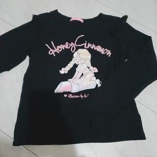 ハニーシナモン(Honey Cinnamon)のHONEY CINNAMON ♡フリルトップス(Tシャツ(長袖/七分))