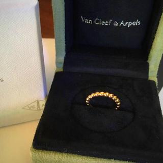 ヴァンクリーフアンドアーペル(Van Cleef & Arpels)のヴァンクリーフ&アーペル ペルレリング(リング(指輪))