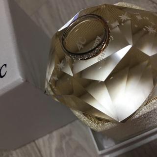 ヨンドシー(4℃)の最終値下げ4℃ピンクゴールドリング(リング(指輪))
