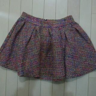 ダズリン(dazzlin)のDAZZLIN ミニスカート Sサイズ マルチカラー ダズリン(ミニスカート)