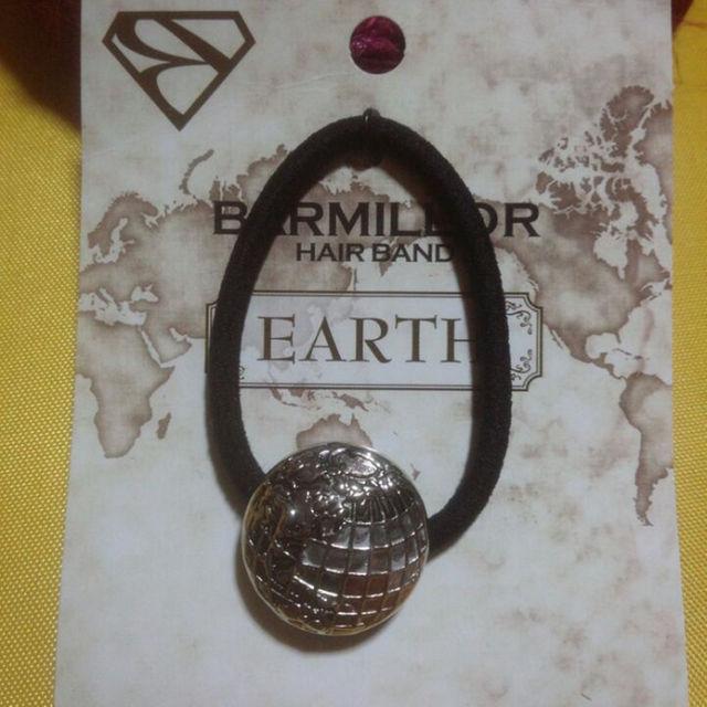 BARMILLOR ヘアゴム EARTH レディースのヘアアクセサリー(その他)の商品写真