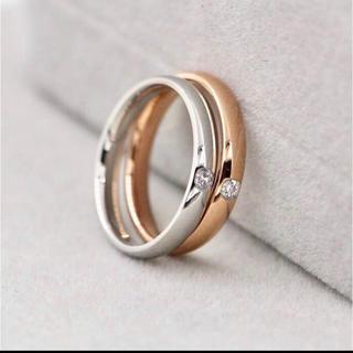 ステンレス指輪 ペアーリング 指輪 リング(リング(指輪))