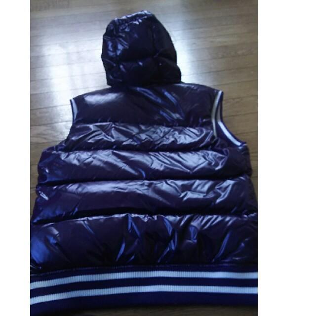 BURBERRY BLACK LABEL(バーバリーブラックレーベル)のくま様専用BURBERRY blacklabel ダウンベスト サイズ L メンズのジャケット/アウター(ダウンベスト)の商品写真