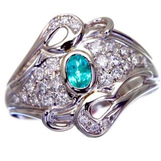 ✨価値ある逸品‼️パライバトルマリン✨(リング(指輪))