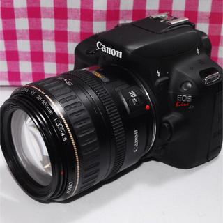 キヤノン(Canon)の❤綺麗な写真を撮りたい❤ Canon Kiss x7 レンズキット♪⭐元箱付き⭐(デジタル一眼)