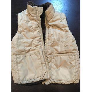 ムジルシリョウヒン(MUJI (無印良品))の無印良品 ベスト 90cm(ジャケット/上着)