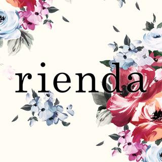 リエンダ(rienda)の新品 rienda ノベルティ メイクセット、ガードケース(コフレ/メイクアップセット)