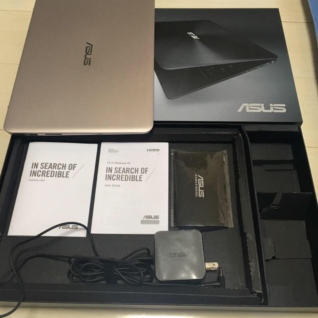 ASUS(エイスース)のUX305CA ASUS ZenBook 512GB ノートパソコン PC スマホ/家電/カメラのPC/タブレット(ノートPC)の商品写真