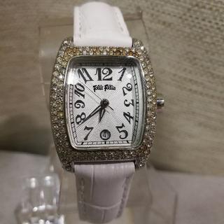 2bf8b2b570 フォリフォリ(Folli Follie)の新品ベルト フォリフォリ 腕時計 レディース ラインストーン (
