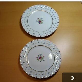 アビランド(Haviland)のケーキ皿2枚(食器)