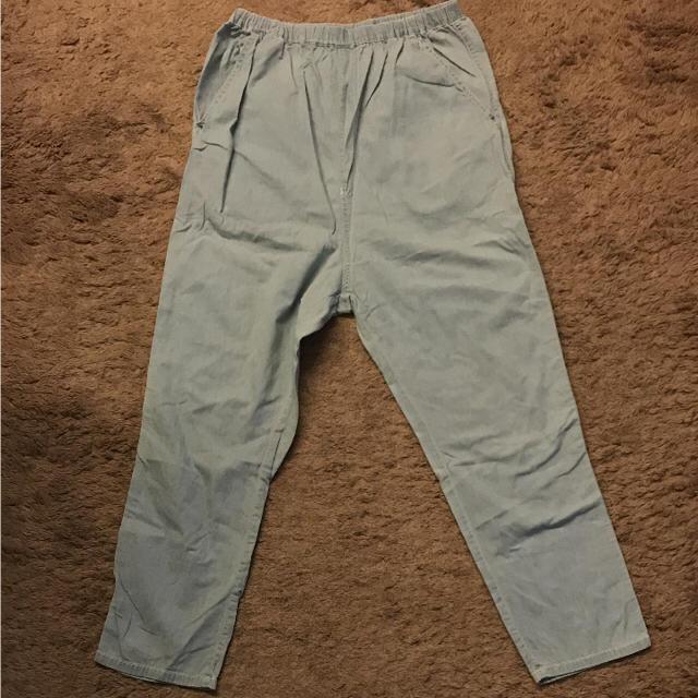 w closet(ダブルクローゼット)のW closetブルーパンツ レディースのパンツ(カジュアルパンツ)の商品写真