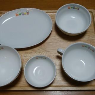ニッコー(NIKKO)のお食い初め TAMAHIYO×NIKKOコラボ商品。(プレート/茶碗)