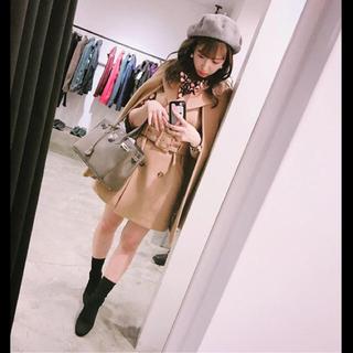 リリーブラウン(Lily Brown)の❤️ 三上悠亜 ❤️ リリーブラウン ケープウールコート ケープコート 今季 ♡(ガウンコート)