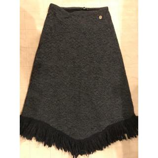 アクサラ(AXARA)のAXARA ニットスカート(ロングスカート)