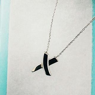 ティファニー(Tiffany & Co.)のティファニー シルバーネックレス クロス(その他)