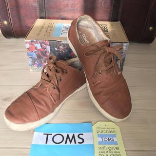 トムズ(TOMS)のTOMS スウェードボアスニーカー ブラウン(スニーカー)