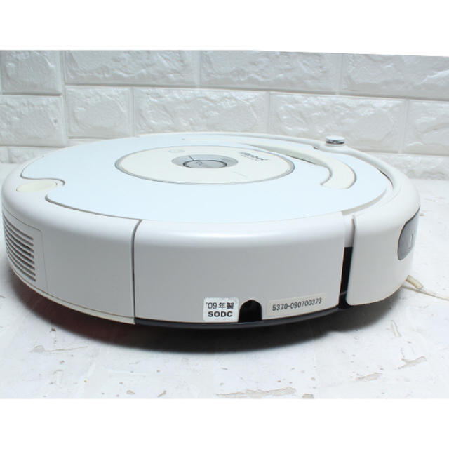 iRobot(アイロボット)のアイロボット ロボット掃除機 Roomba 530 ホワイト iRobot スマホ/家電/カメラの生活家電(掃除機)の商品写真