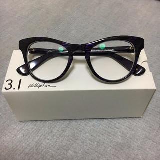 スリーワンフィリップリム(3.1 Phillip Lim)の3.1 Phillip Lim スリーワンフィリップリム キャットアイ眼鏡(サングラス/メガネ)