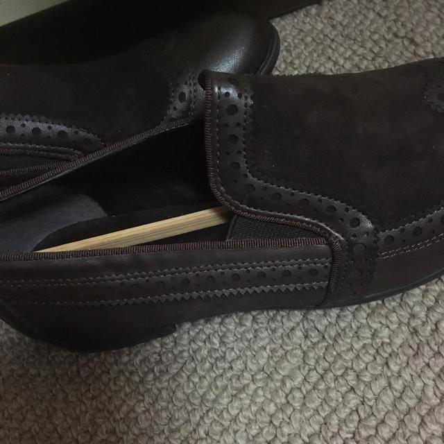 theory(セオリー)のブラウン新品未使用14日迄お値下げ レディースの靴/シューズ(ハイヒール/パンプス)の商品写真