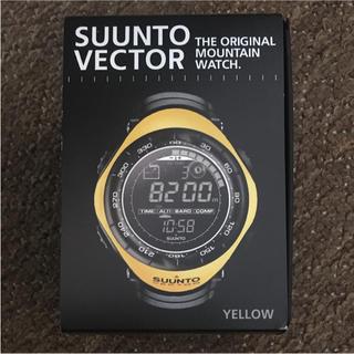 スント(SUUNTO)の【新品・未使用】SUUNTO VECTOR YELLOW(腕時計(デジタル))