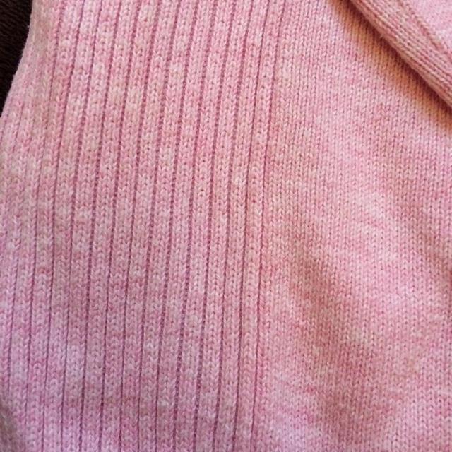 GAP(ギャップ)のGAP爽やかピンクの綿100%セーター メンズのトップス(ニット/セーター)の商品写真