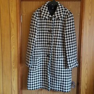 ヨンドシー(4℃)の千鳥格子 チェスター 結婚式 コート ジャケット(ロングコート)