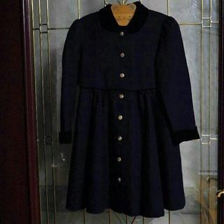 ハナエモリ(HANAE MORI)の120 HANAE MORI プチ モリハナエ  濃紺 ワンピース  フォーマル(ドレス/フォーマル)
