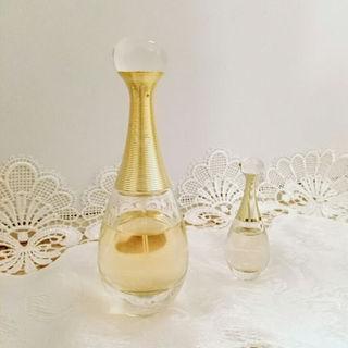 クリスチャンディオール(Christian Dior)のDior ジャドール・オードパルファム30mlとおまけ(香水