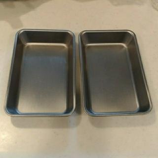 ムジルシリョウヒン(MUJI (無印良品))の無印良品 トレイ2点セット(調理道具/製菓道具)