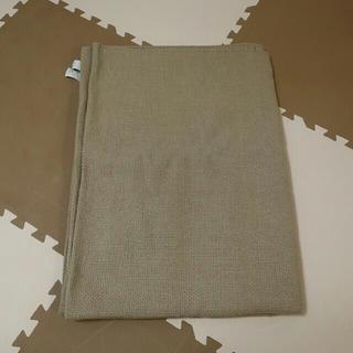 ムジルシリョウヒン(MUJI (無印良品))の無印 インド綿手織ラグ/ベージュ 140×200cm(ラグ)