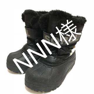 ソレル(SOREL)のソレル SOREL スノーブーツ 16cm キッズ 防寒 黒 ブラック 雪遊び(長靴/レインシューズ)