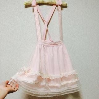 リズリサ(LIZ LISA)のリズリサ オーガンジー スカート リボン(ひざ丈スカート)