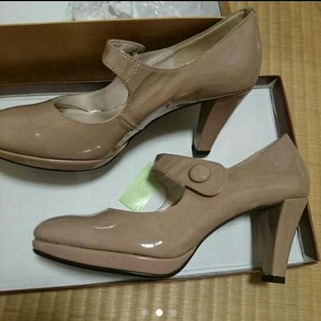 Marie femme(マリーファム)の24.5ベージュ日本製ハイヒール レディースの靴/シューズ(ハイヒール/パンプス)の商品写真