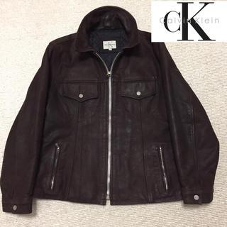 カルバンクライン(Calvin Klein)のCK カルバンクライン 革ジャケット(レザージャケット)