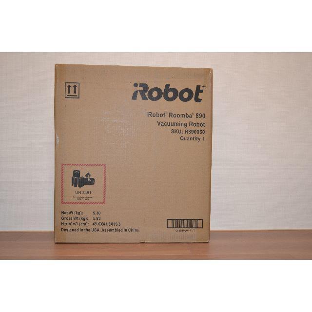 iRobot(アイロボット)のロボット掃除機ルンバ890  スマホ/家電/カメラの生活家電(掃除機)の商品写真