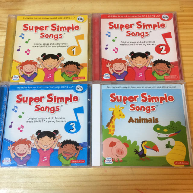 SUPER SIMPLE SONGS 2 SECOND EDITION CD CHILDREN KIDS ENGLISH