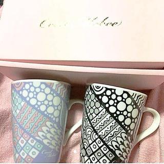 セシルマクビー(CECIL McBEE)のCECIL McBEE☆ペアマグカップ☆非売品☆新品☆(グラス/カップ)