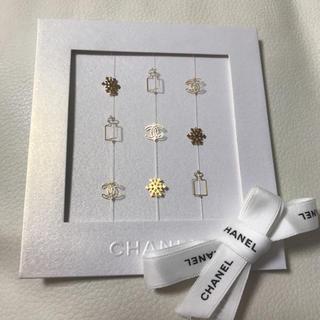 シャネル(CHANEL)のシャネル◆クリスマス CHANELメッセージカード◆(カード/レター/ラッピング)