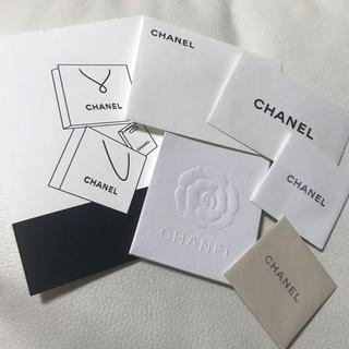 シャネル(CHANEL)のシャネル◆メッセージカード・封筒セット CHANEL◆(カード/レター/ラッピング)