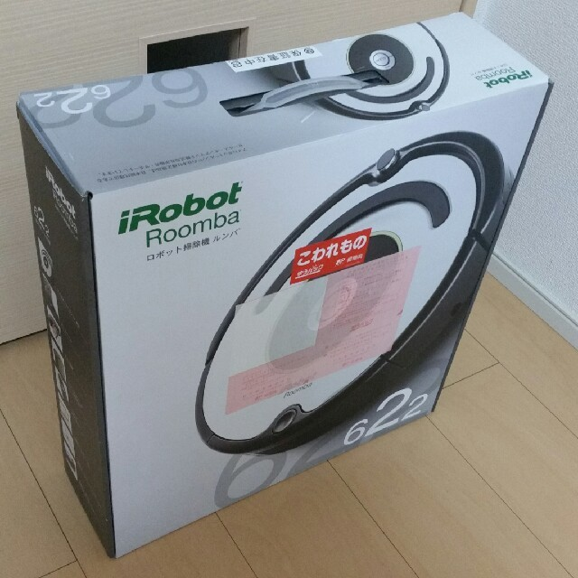 iRobot(アイロボット)のsousuke様専用 iRobot Roomba622 新品未開封 ルンバ スマホ/家電/カメラの生活家電(掃除機)の商品写真