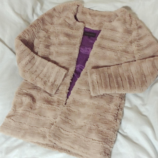 MERCURYDUO(マーキュリーデュオ)のファーコート レディースのジャケット/アウター(毛皮/ファーコート)の商品写真