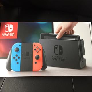ニンテンドースイッチ(Nintendo Switch)の新品 ニンテンドースイッチ  付属品完備 保証付き(その他)