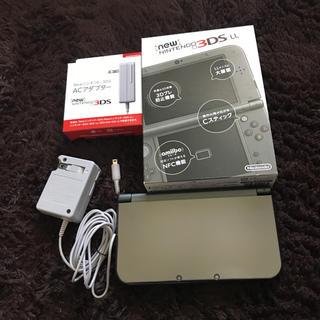ニンテンドー3DS(ニンテンドー3DS)の3DSLL 美品 メタリックブラック(携帯用ゲーム機本体)