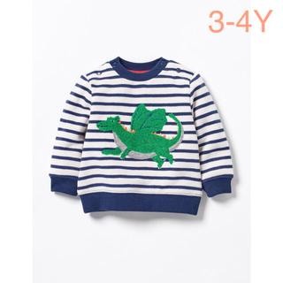 ボーデン(Boden)の‼︎日本未入荷‼︎ ダイナソー 裏起毛トップス(Tシャツ/カットソー)