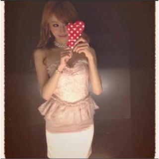 ティアラミリー(Tiara Mily)の新愛沢えみりちゃんブランド♡tiara mily ペプラムドレス an(ミニドレス)