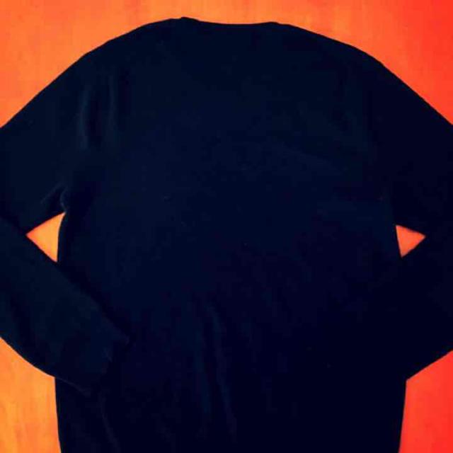 POLO RALPH LAUREN(ポロラルフローレン)の美品 Polo Ralph Lauren ブラックニット メンズのトップス(ニット/セーター)の商品写真