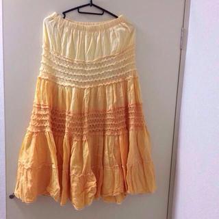 グラデーションロングスカート♡(ロングスカート)